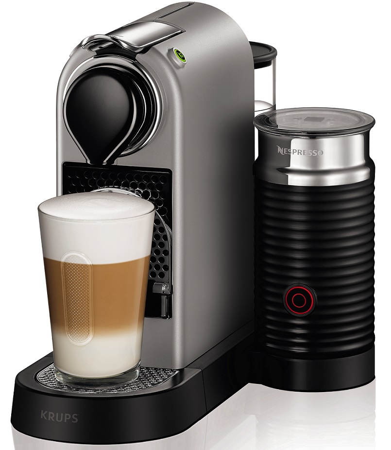Machine caf nespresso citiz milk yy2732fd krups - Machine a cafe krups nespresso ...