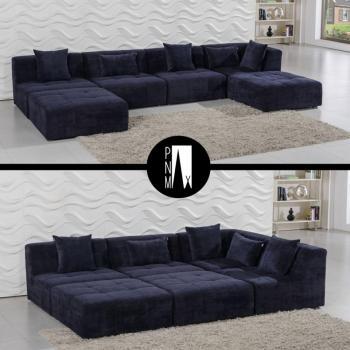 Catgorie meubles du guide et comparateur d39achat for Canapé panoramique modulable