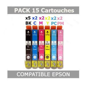 compatible epson 16xl black pas cher cartouche jet dencre compatible epson 16xl black pas. Black Bedroom Furniture Sets. Home Design Ideas
