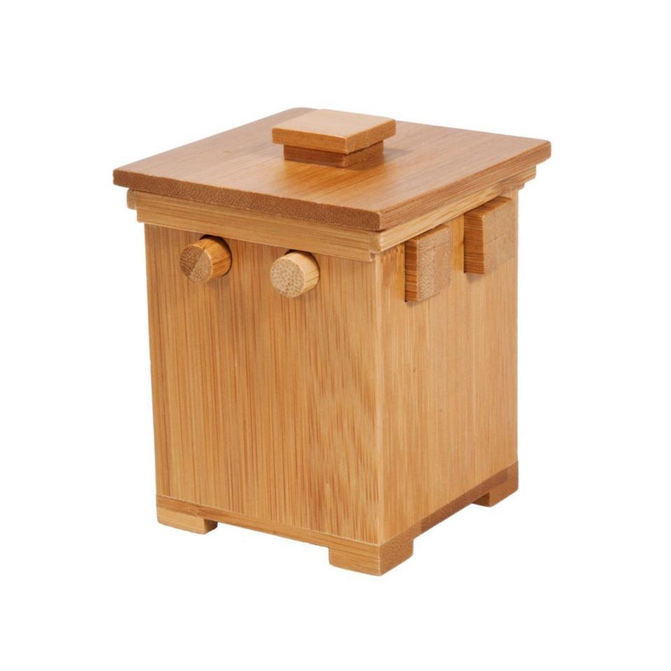 casse tte en bois bambou la boite magique 2 casse tte