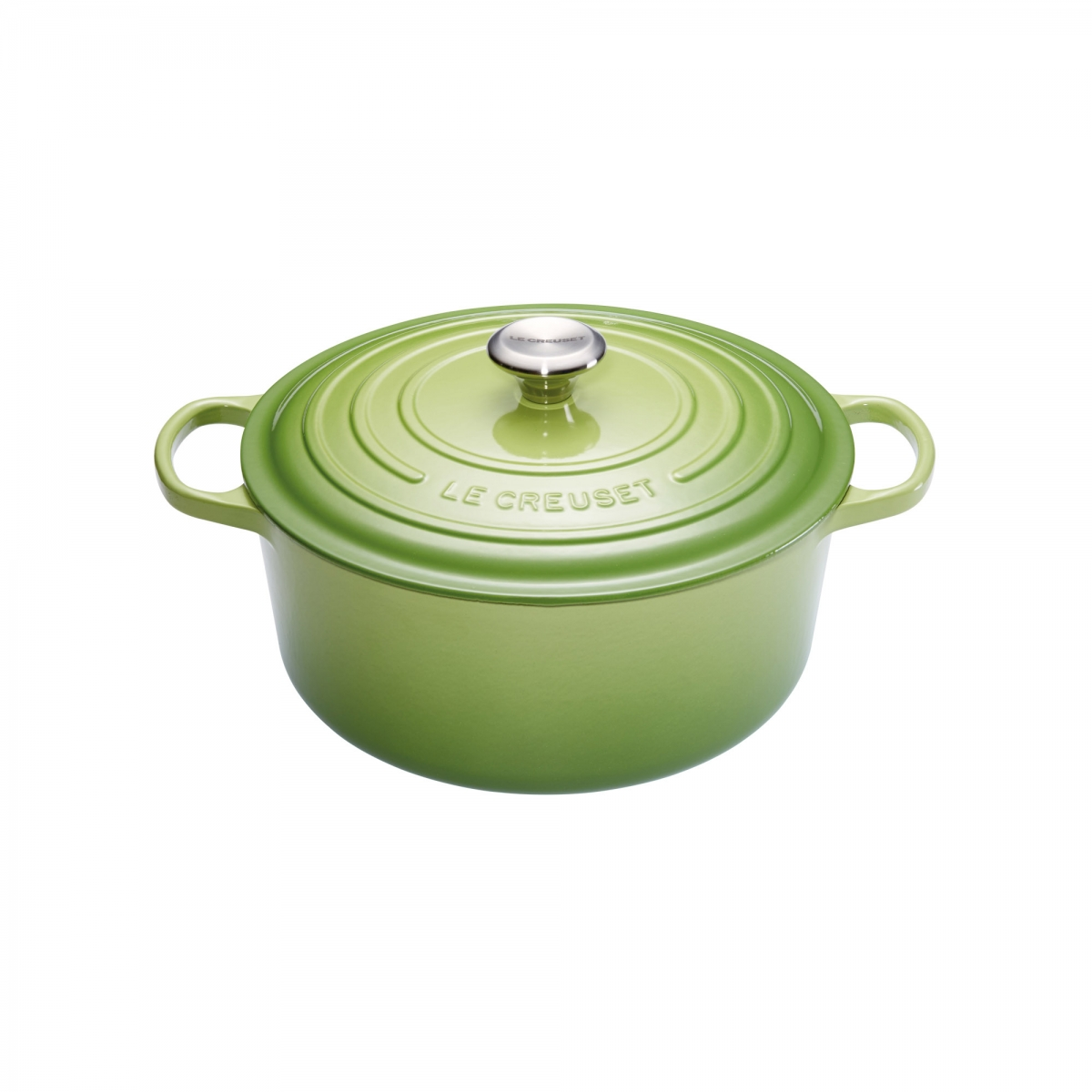 le creuset signature cocotte faitout en fonte maille 24cm 42l vert. Black Bedroom Furniture Sets. Home Design Ideas