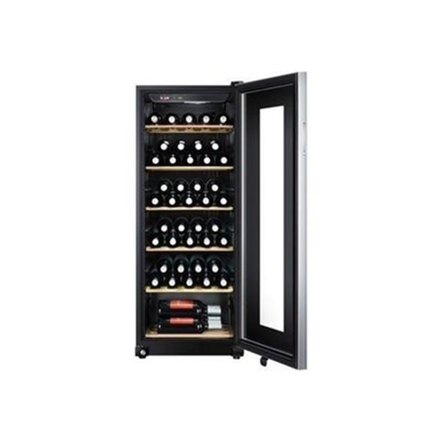 haier ws59gae cave vin 59 bouteilles a noir. Black Bedroom Furniture Sets. Home Design Ideas
