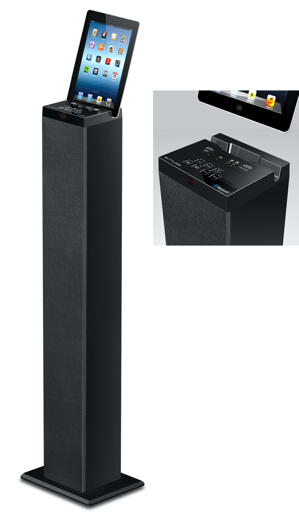 station daccueil bluetooth muse m 1250bt. Black Bedroom Furniture Sets. Home Design Ideas