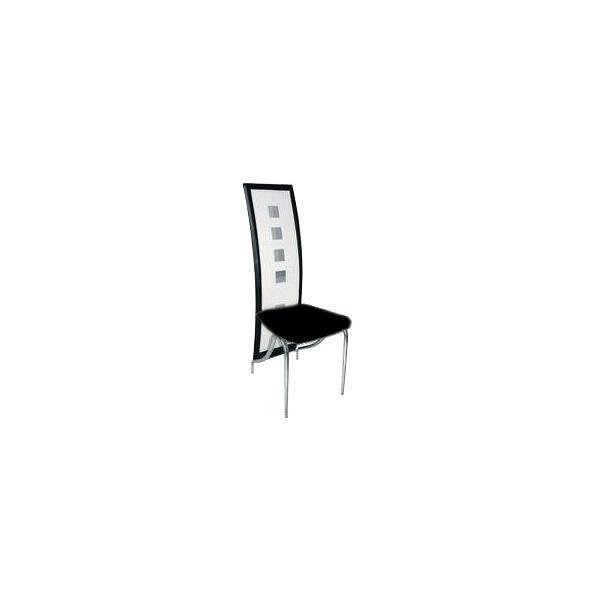 Mettre guide d 39 achat for Chaise de salle a manger noire et blanche
