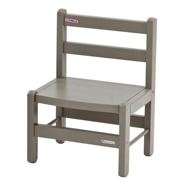 combelle c chaise basse laqu e gris clair. Black Bedroom Furniture Sets. Home Design Ideas
