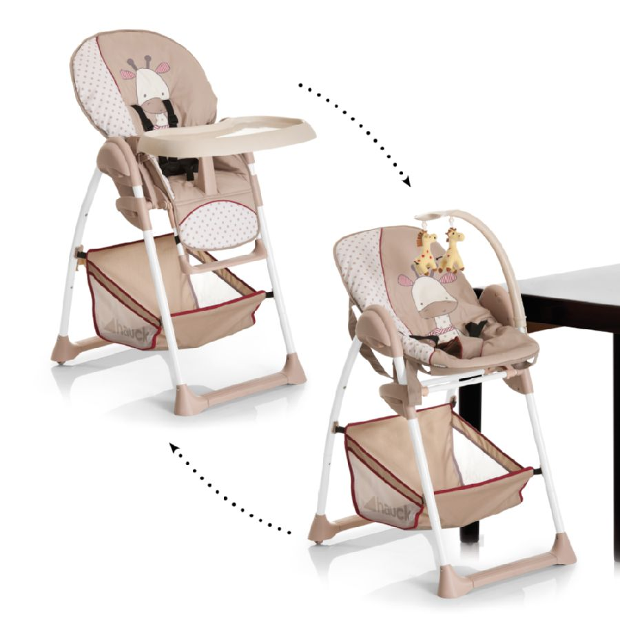 hauck c hochstuhl sitn relax giraffe. Black Bedroom Furniture Sets. Home Design Ideas