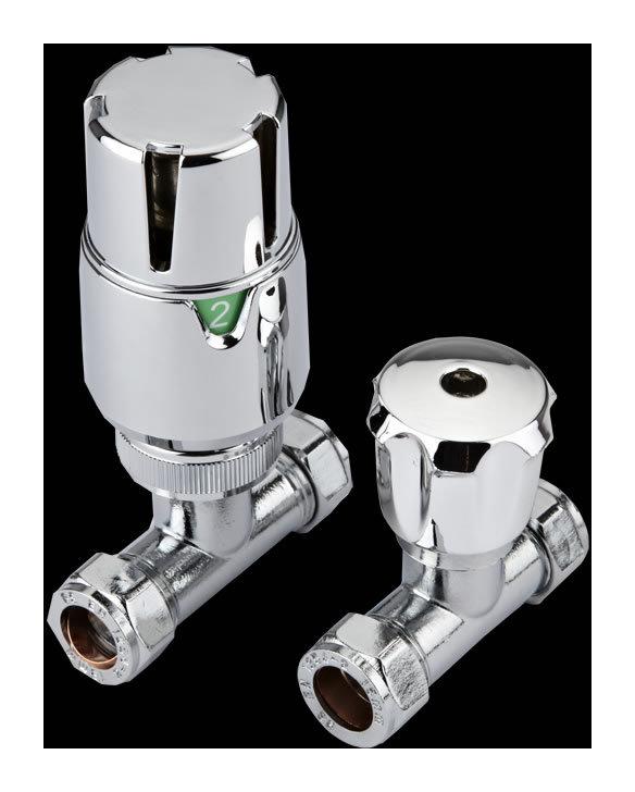 Hudson crobinets thermostatique de radiateur droits re - Robinet thermostatique droit ...