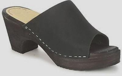 sabot ouvert noir MOA 2580  Chaussures de Gymnastique Femme pnOXe