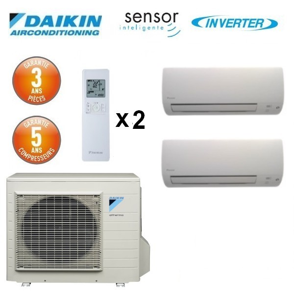 daikin bi split inverter 2mxs40h 2 ftxs20k. Black Bedroom Furniture Sets. Home Design Ideas