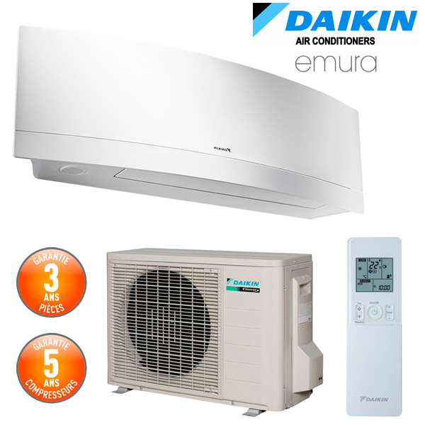 daikin climatiseur mural emura ii ftxg35lw. Black Bedroom Furniture Sets. Home Design Ideas