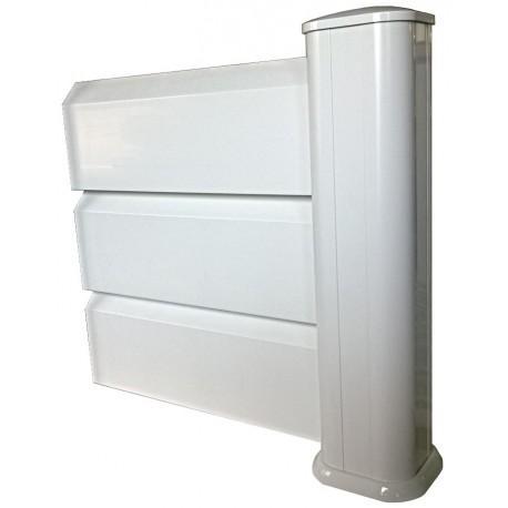 charming poser des lames pvc 6 kit intermediaire pvc brise vue hauteur. Black Bedroom Furniture Sets. Home Design Ideas