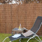 nature cprofil en acier galvanis pour cran en bambou l 180x5cm cat gorie cl ture de jardin. Black Bedroom Furniture Sets. Home Design Ideas