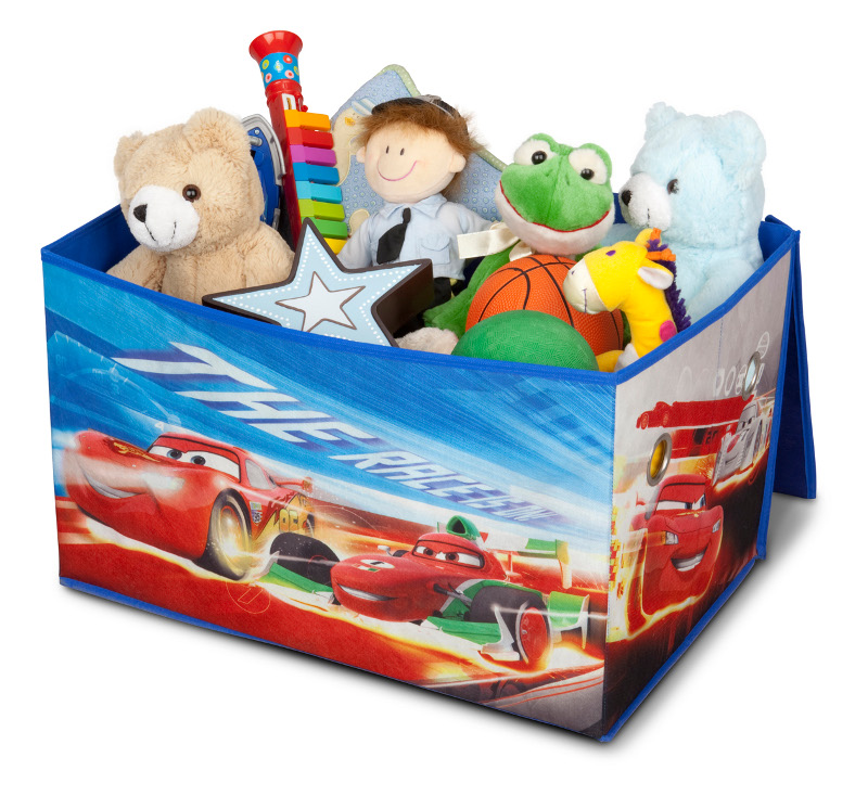 disney coffre jouets en tissu cars. Black Bedroom Furniture Sets. Home Design Ideas