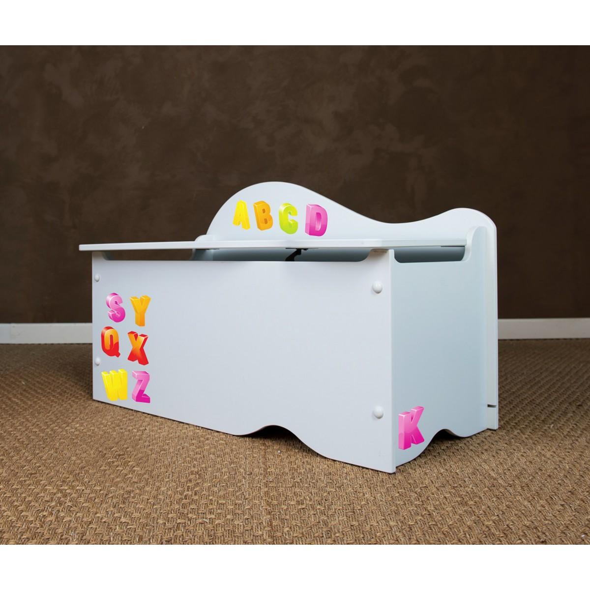 someo coffre de rangement patchwork terre de nuit. Black Bedroom Furniture Sets. Home Design Ideas