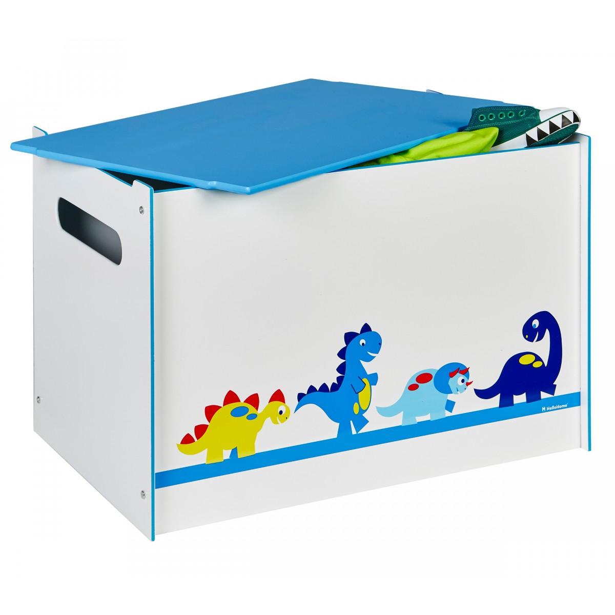someo coffre de rangement dinosaures 60 x 40 x 40 cm. Black Bedroom Furniture Sets. Home Design Ideas
