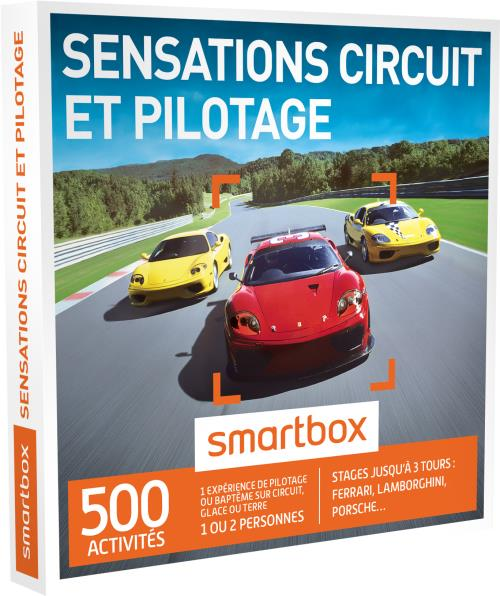 smartbox coffret cadeau sensations circuit et pilotage. Black Bedroom Furniture Sets. Home Design Ideas