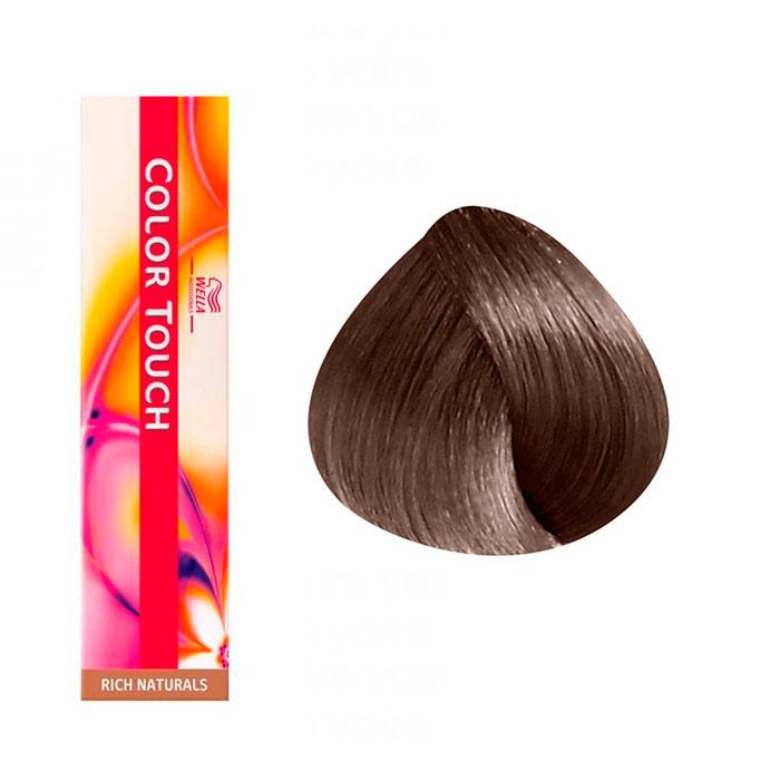 Wella Color Touch Blond Foncé Doré Marron 637