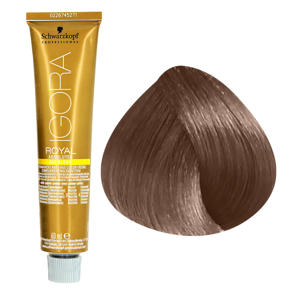 schwarzkopf cigora royal absolute 7 60 coloration catgorie colorations - Coloration 60