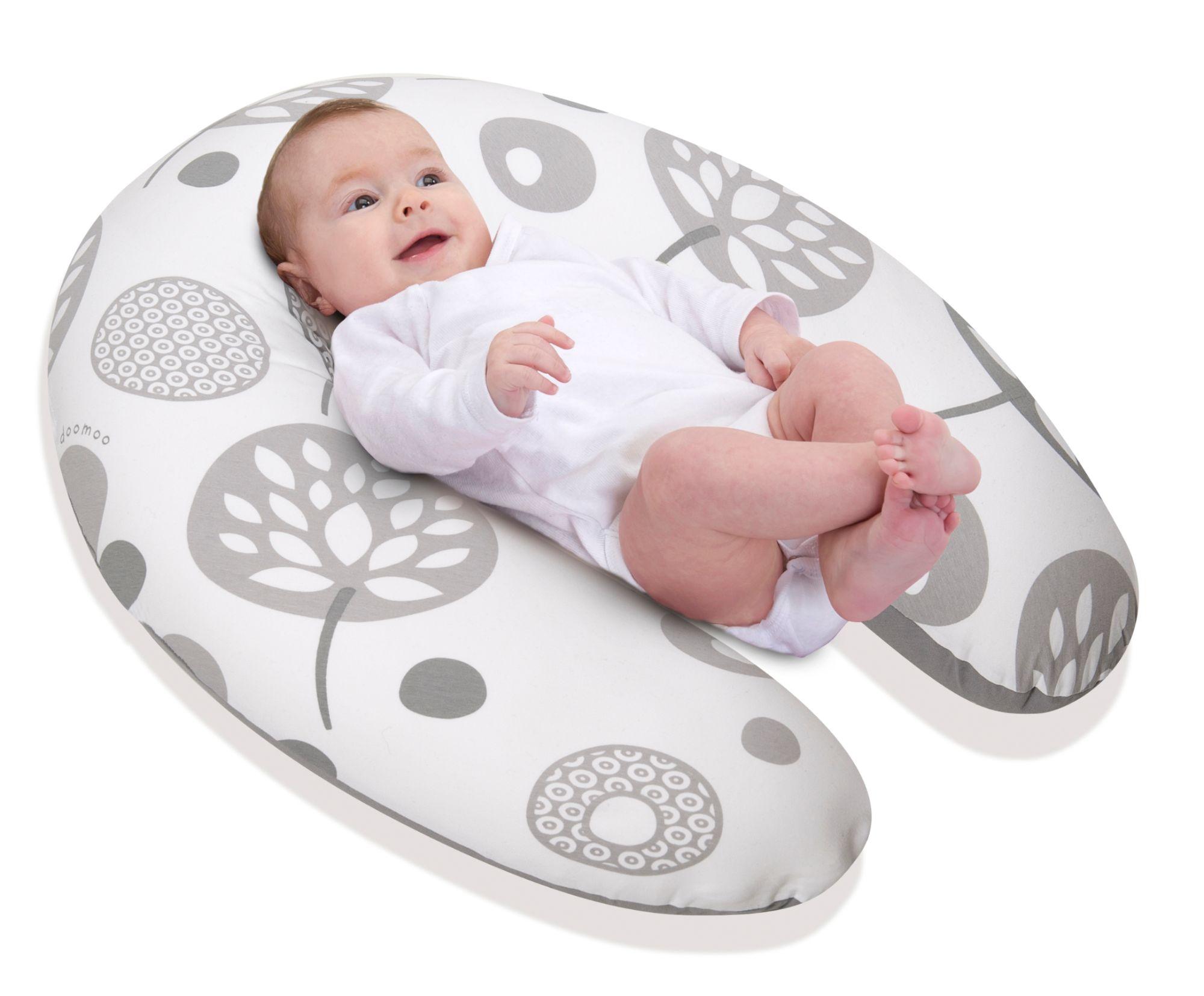 babymoov ccoussin de maternit doomoo flower argent. Black Bedroom Furniture Sets. Home Design Ideas