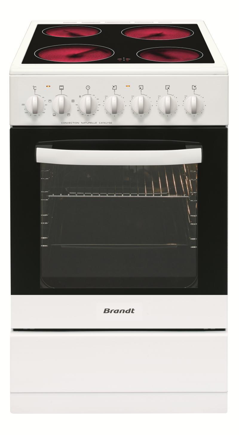 brandt cuisini re vitroc ramique kv1540w. Black Bedroom Furniture Sets. Home Design Ideas