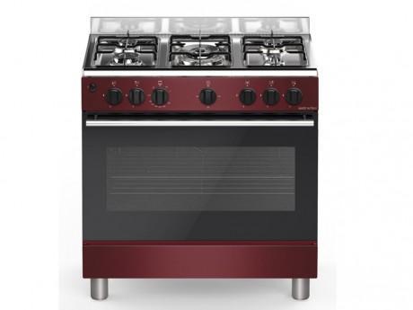 Bompani piano de cuisson believe 5 feux gaz 1 four gaz de 80x50cm borde - Cuisiniere bompani 5 feux ...