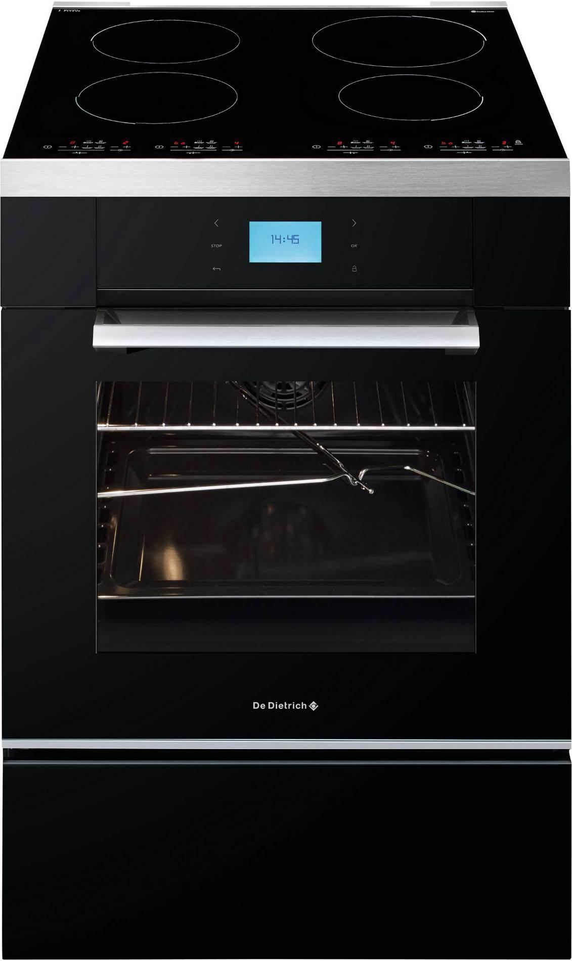 cuisinire induction de dietrich dci1594b garanti 5 ans. Black Bedroom Furniture Sets. Home Design Ideas