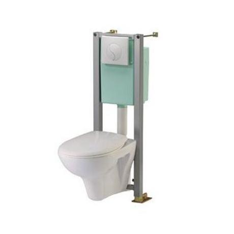 Catgorie cuvette wc du guide et comparateur d 39 achat - Wc siamp suspendu ...