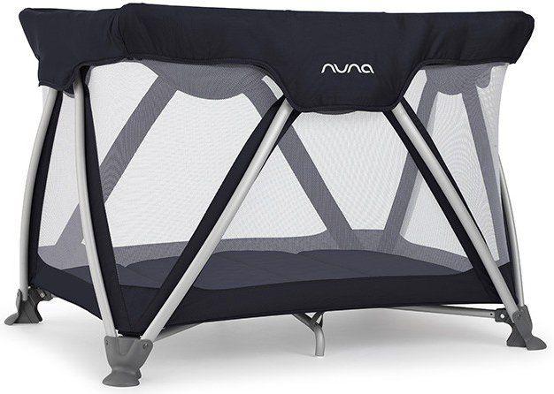 nuna lit pliant sena indigo. Black Bedroom Furniture Sets. Home Design Ideas