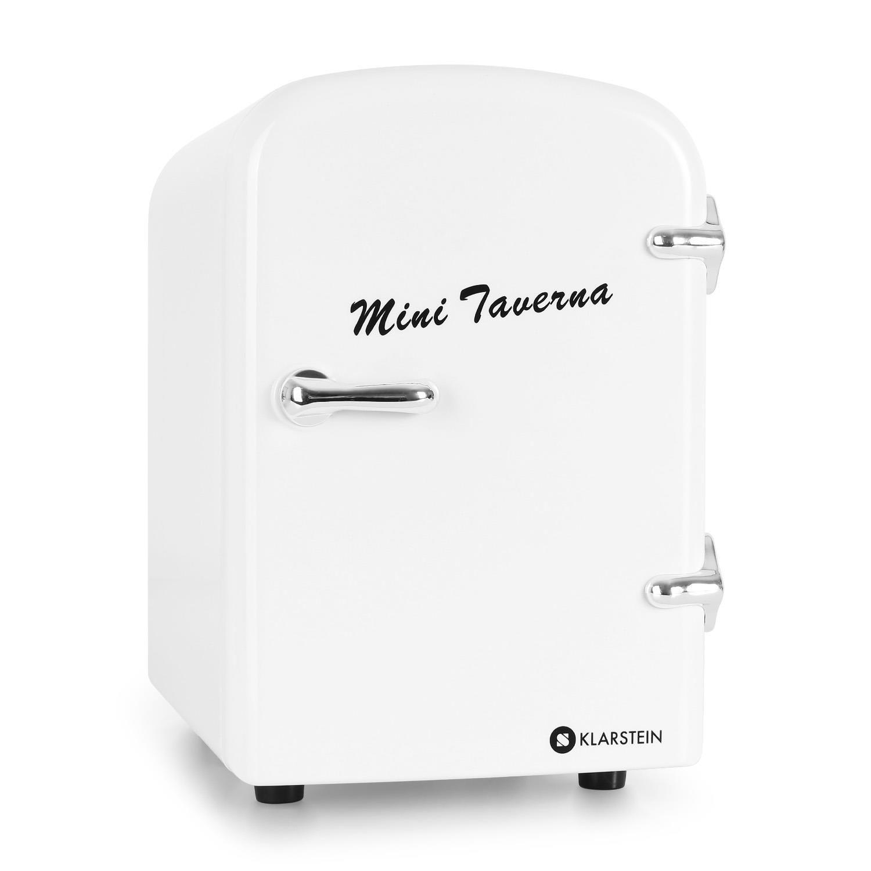 Klarstein mini taverna frigo 4l blanc - Conservation aliments cuits hors frigo ...