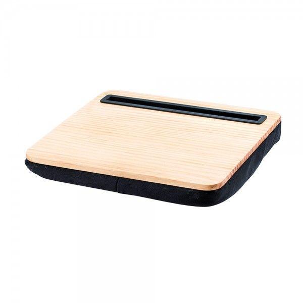 kikkerland csupport de tablette en mdf et coussin micro perle. Black Bedroom Furniture Sets. Home Design Ideas
