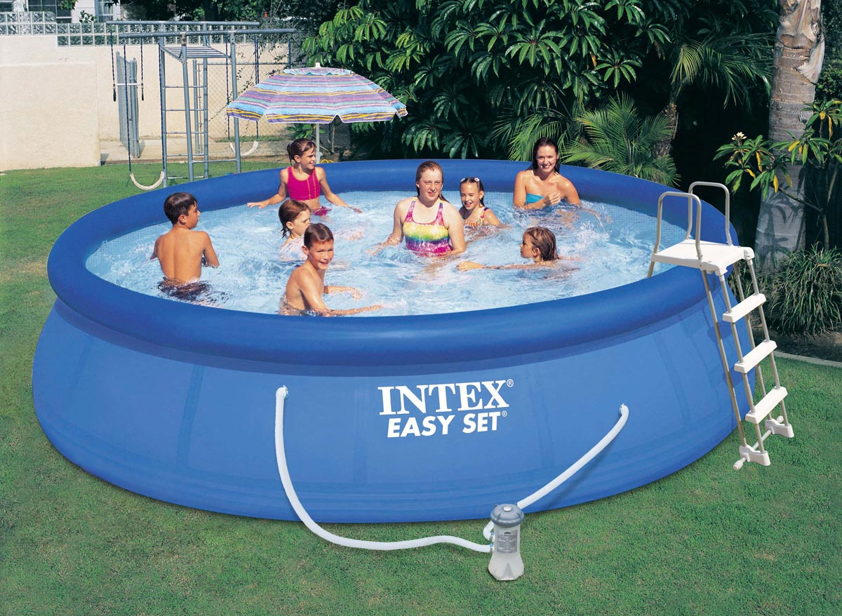 Intex liner pour piscine ultra silver tubulaire for Intex piscine liner