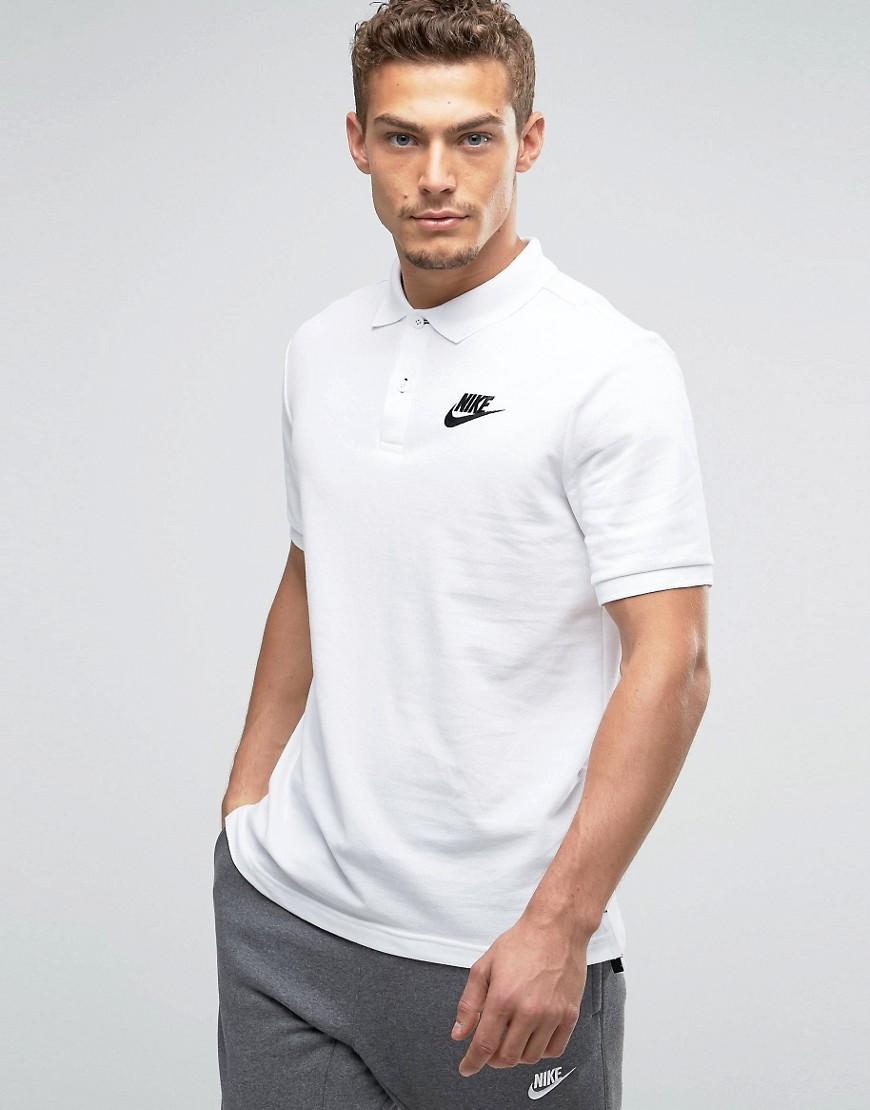 Nike C - Matchup 829360-100 - Polo - Blanc - Blanc 6f22e6ca124b9