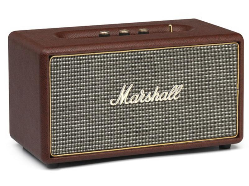 enceinte bluetooth marshall stanmore bt marron. Black Bedroom Furniture Sets. Home Design Ideas