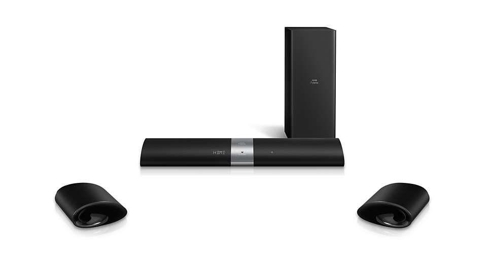 philips barre de son b5. Black Bedroom Furniture Sets. Home Design Ideas