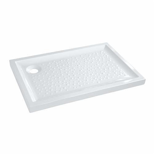 Allia creceveur de douche poser rectangle extra plat blanc prima dime catgori - Receveur de douche a poser ...