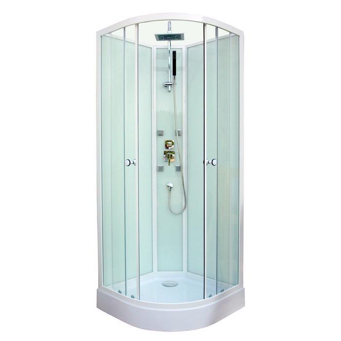 Catgorie douche du guide et comparateur d 39 achat - Cabine de douche quart de cercle 90x90 ...