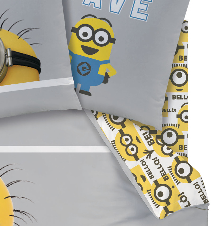 Minions drap housse 90 x 190 cm for Drap housse 40 x 90