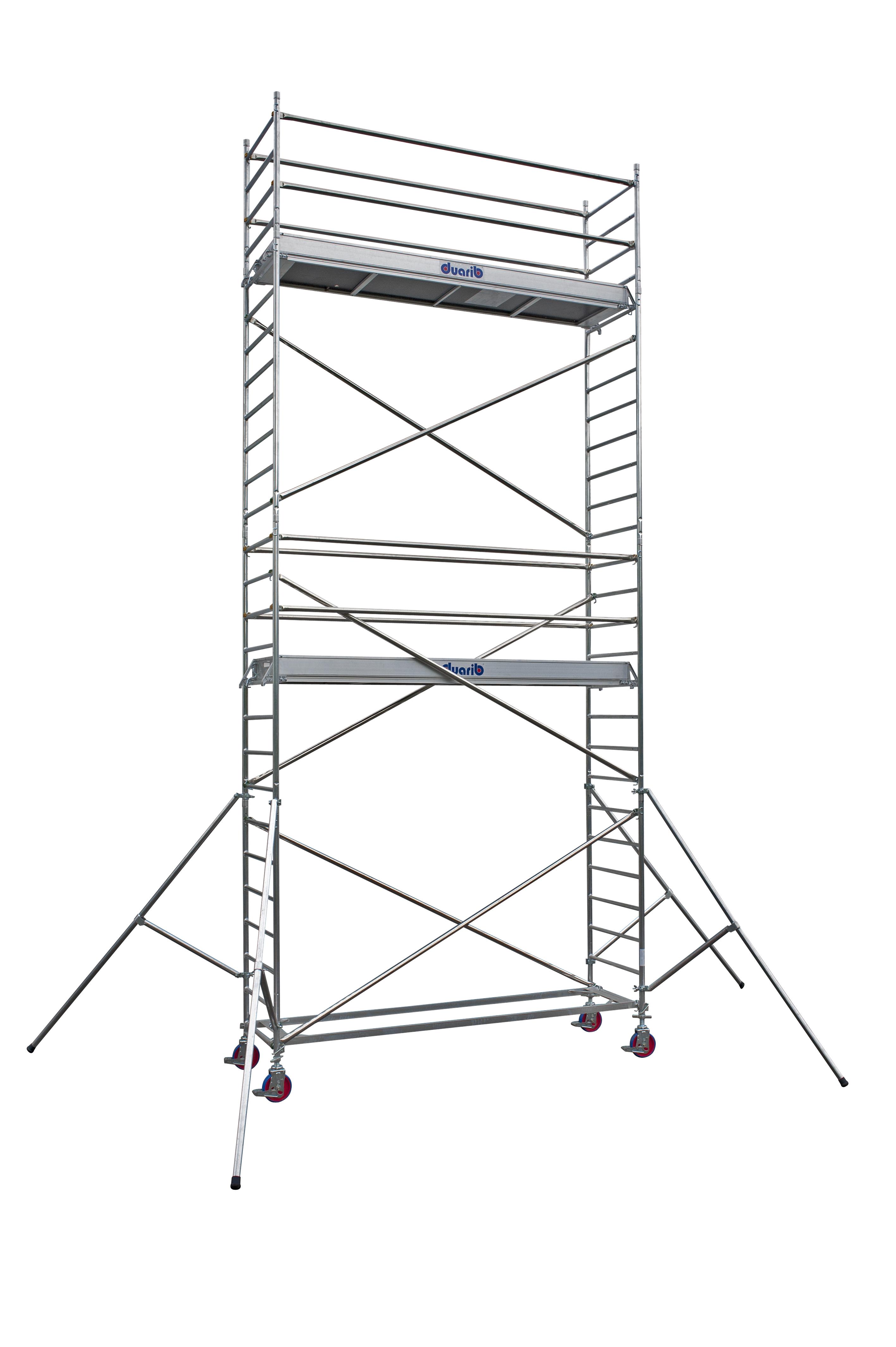 duarib echafaudages roulants aluminium docker2 85 long. Black Bedroom Furniture Sets. Home Design Ideas