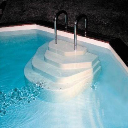 Cat gorie echelle de piscine du guide et comparateur d 39 achat for Escalier piscine amovible