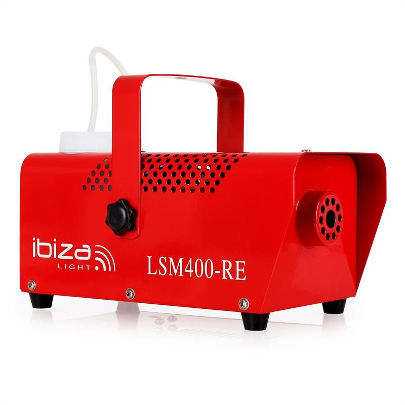 ibiza c lsm400 machine fum e 400w 14m min rouge. Black Bedroom Furniture Sets. Home Design Ideas
