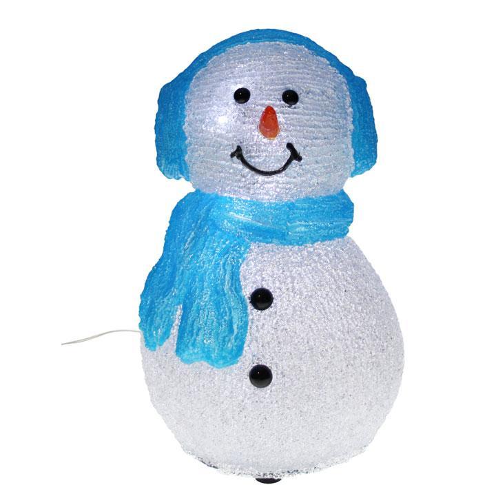Agr able bonhomme de neige decoration exterieure 8 for Decoration porte bonhomme de neige