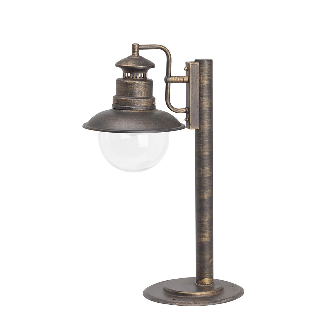 brilliant lampe ext rieure artu 60 w noir or. Black Bedroom Furniture Sets. Home Design Ideas