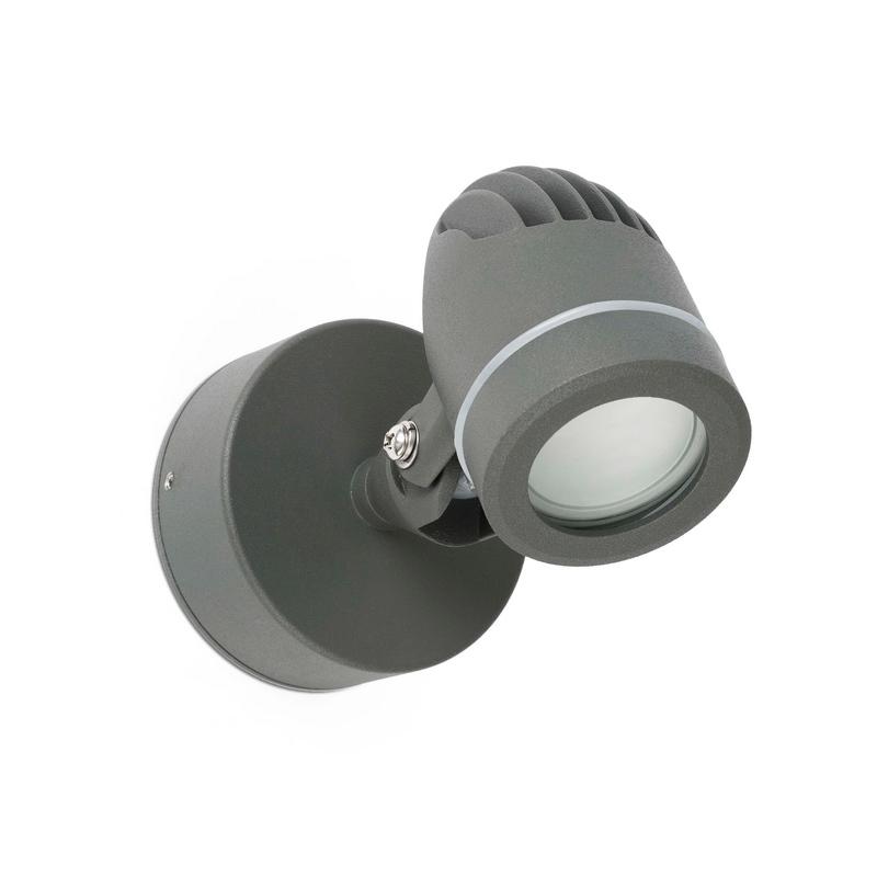 Faro 70138 applique spot gera led pour ext rieur for Spot applique exterieur