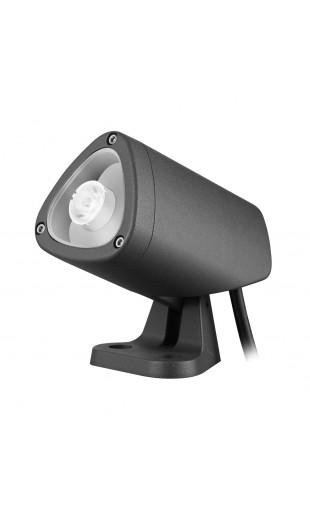 lumihome manathan spot orientable led noir. Black Bedroom Furniture Sets. Home Design Ideas