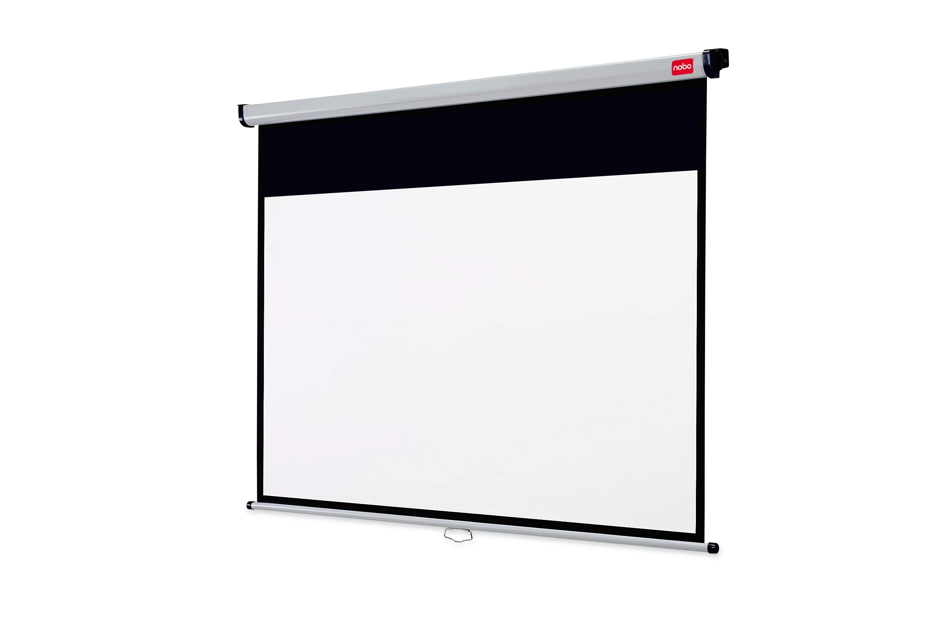 nobo ecran de projection lectrique plugn play 2450 x 1850 mm. Black Bedroom Furniture Sets. Home Design Ideas