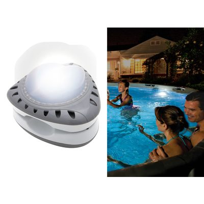 Intex projecteur led magnetique catgorie entretien de piscine for Entretien piscine intex
