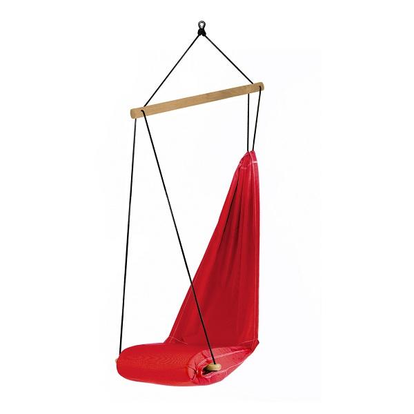 amazonas c fauteuil suspendu hangover rouge. Black Bedroom Furniture Sets. Home Design Ideas