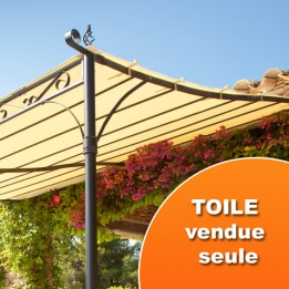 Tonnelle Marquise hesperide toile pour la tonnelle marquise hossegor ecru -