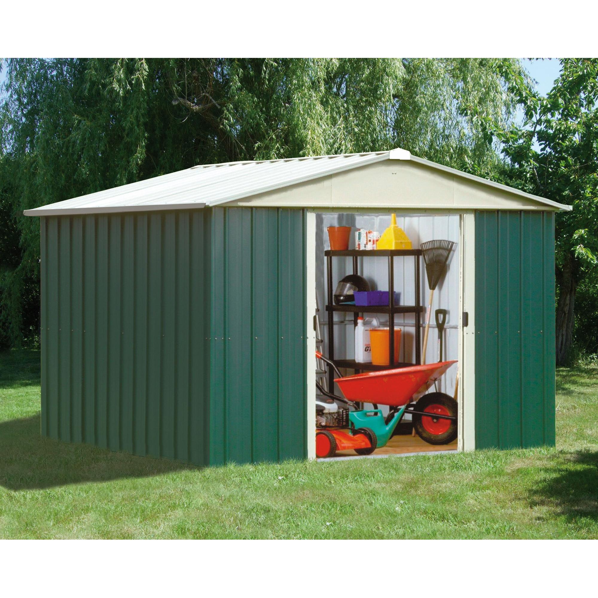 Yardmaster CAbri de jardin métal 9 03 m2
