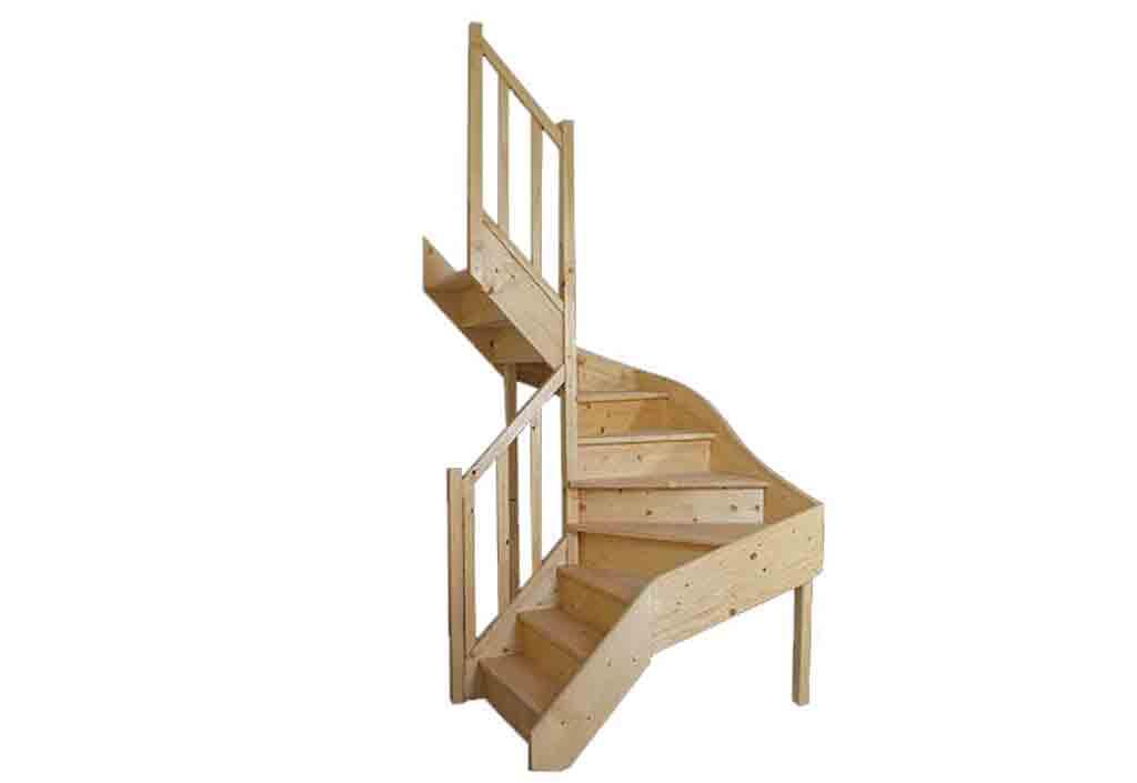 Catgorie escalier du guide et comparateur d 39 achat - Encombrement escalier quart tournant ...